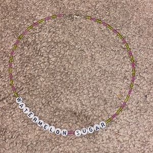 handmade Jewelry - Watermelon Sugar Necklace